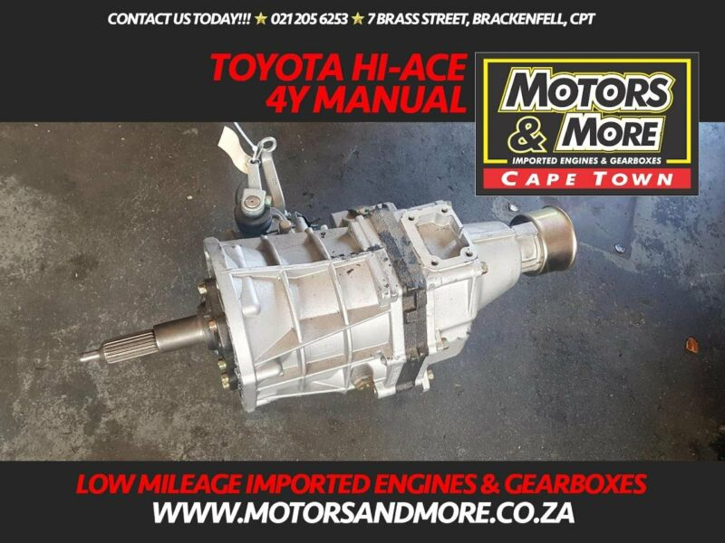Toyota 4Y Hi-Ace Gearbox For Sale - BRAND NEW - No Trade in Needed