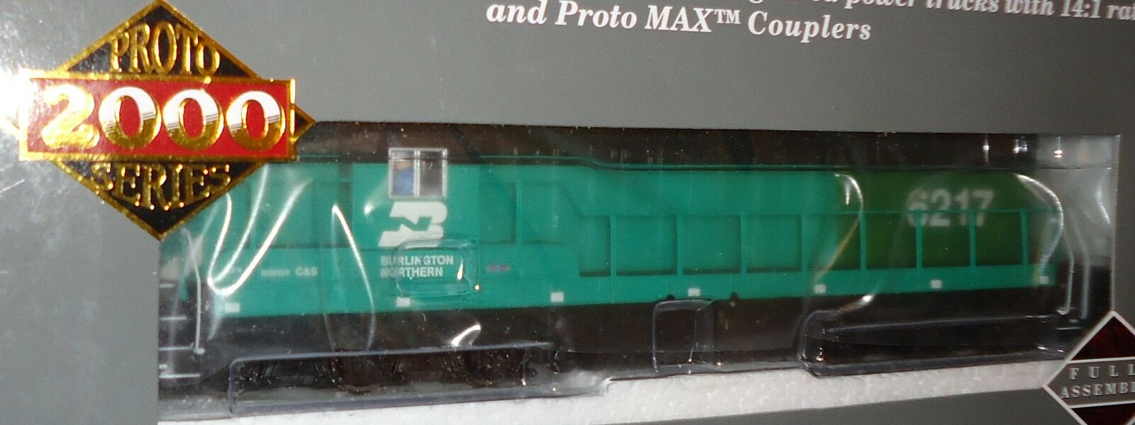 HO Proto 2000 SD9 - Burlington Northern Railroad    6217   DCC Sound  920-41600 127acd