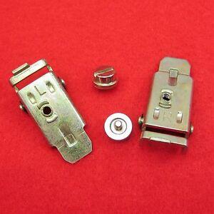 Halteschuhe-fuer-Brother-Strickmaschinen-KR-230-Doppelbett-Ergaenzung-Schrauben
