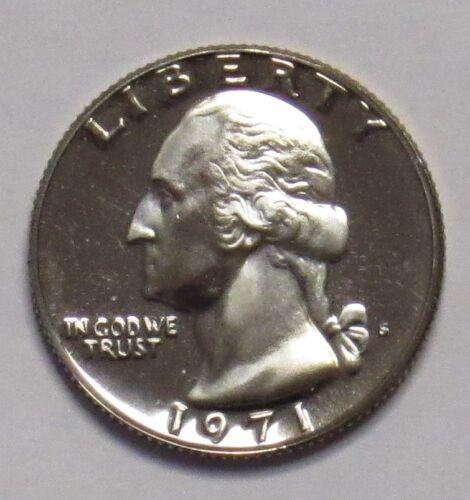 1971 S Proof Washington Quarter