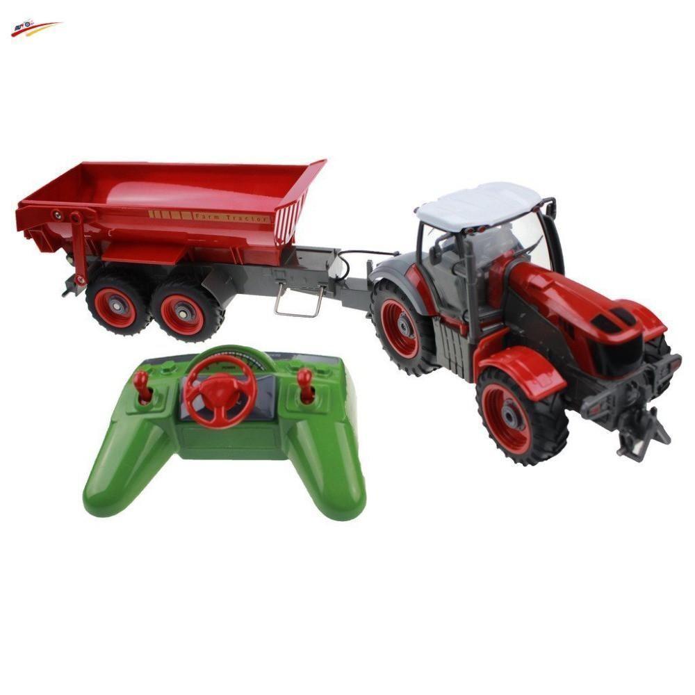 RC Camión 6 canal 4 Granja simulación de control remoto de rueda camión tractor de granja Ingenio