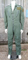 Genuine British RAF Aircrew Flight Suit Flying Overall Green M16A Pilot 2016/301