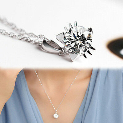 Fashion Cat Face Silver plated Rhinestone Pendant Necklace Jewelry Gift Lovers