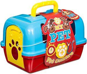 My Pet Vet Centre Étui de transport Jouet vétérinaire Playset Chien Peluche et accessoires Set
