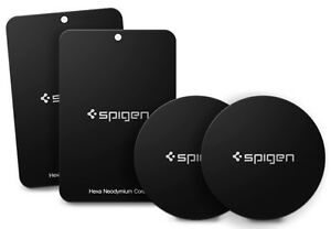Spigen®[A210] Universal Cell Phone Car Mount Holder QNMP Magnetic Metal Plate