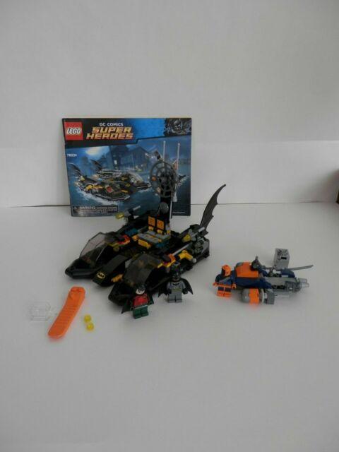 LEGO DC Comics Super Heroes 76034 The Batboat Harbor Pursuit - 100% Complete
