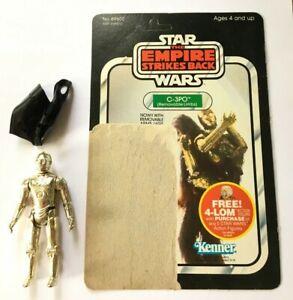 Star-Wars-Vintage-COMPLETE-C-3PO-w-47-Cardback-UNCUT-UNPUNCHED-COO-1982-HK