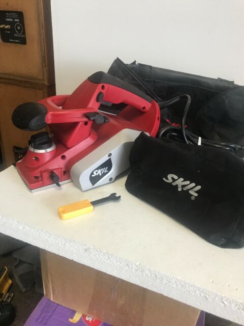 Used Once Skil 1560 5 5a Electric Corded 3 Doubled Blade Handheld Planer