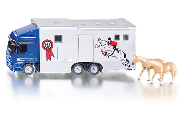 Horse transporters with accessories, Siku Super 1 50, Art.1942 , novelty 2014