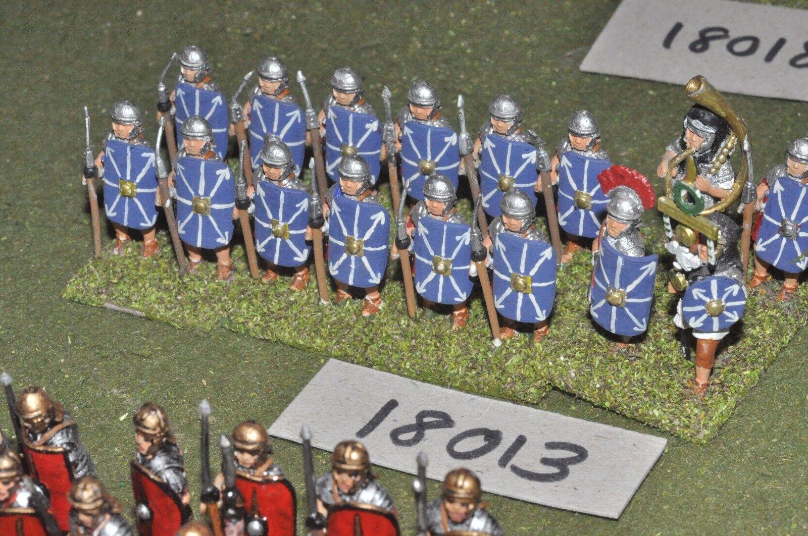 25mm roman era   roman - legionaries 16 figs - inf (18013)