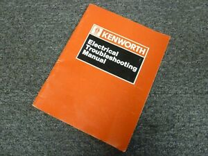 1993-1994 Kenworth T800 Truck Electrical Troubleshooting ...