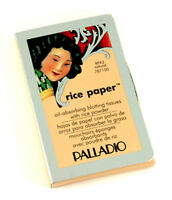 3 Packs Palladio Rice Paper (natural) Oil Absorbing Facial Tissues
