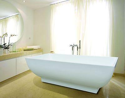 B Ware - Freistehende Badewanne 180x85cm SPIRATO Modell804 Wanne freistehend