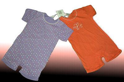 NEU 2 süße Shortys  Baby Bodys  Babybodys  Unterwäsche  Einteiler 62/68