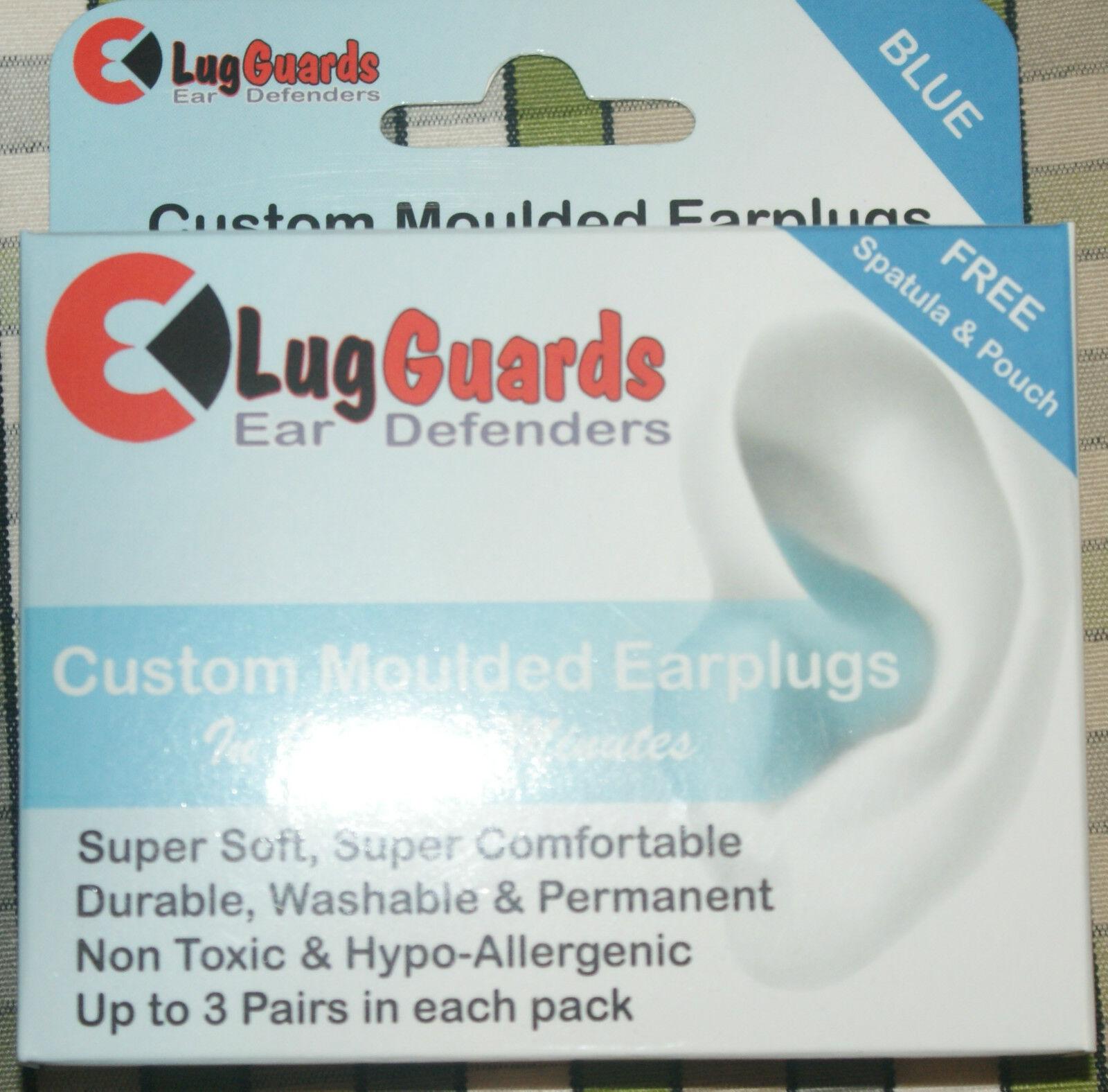 LUG GUARDS Stampo Cuffie IL TUO Auricolari per Cuffie Stampo antirumore protezione 3 paia 21e535