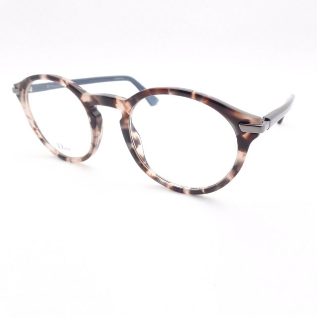 8307415e7ce Christian Dior Essence 5 0t4 Havana Pink Blue 49 Frames Authentic ...