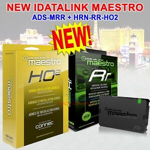 iDatalink Maestro HRN-RR-HO2 Plug and Play T-Harness Factory Integration Adapter