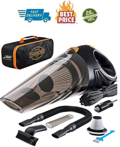 Best Car Vacuum Cleaner Portable Corded Handheld Detailing Auto Compact Worx Kit