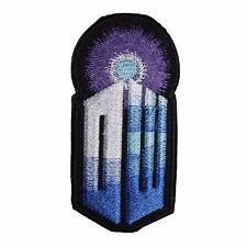 Doctor Who Tardis Logo Embroidered Patch Sew/ Iron-on 10cm Badge