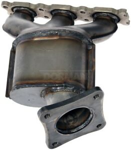 Exhaust Manifold with Integrated Catalytic Converter Left fits 12-16 Wrangler