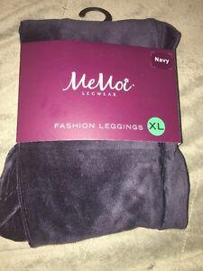 061b9624c3fec Memoi Thin Ribbed leggings Navy size Girls X-Large(12-14) 74-110 lbs ...