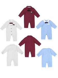 Newborn-Baby-Infant-Boy-Romper-Outfits-Bodysuit-Jumpsuit-Clothes-Gentlemen-Set