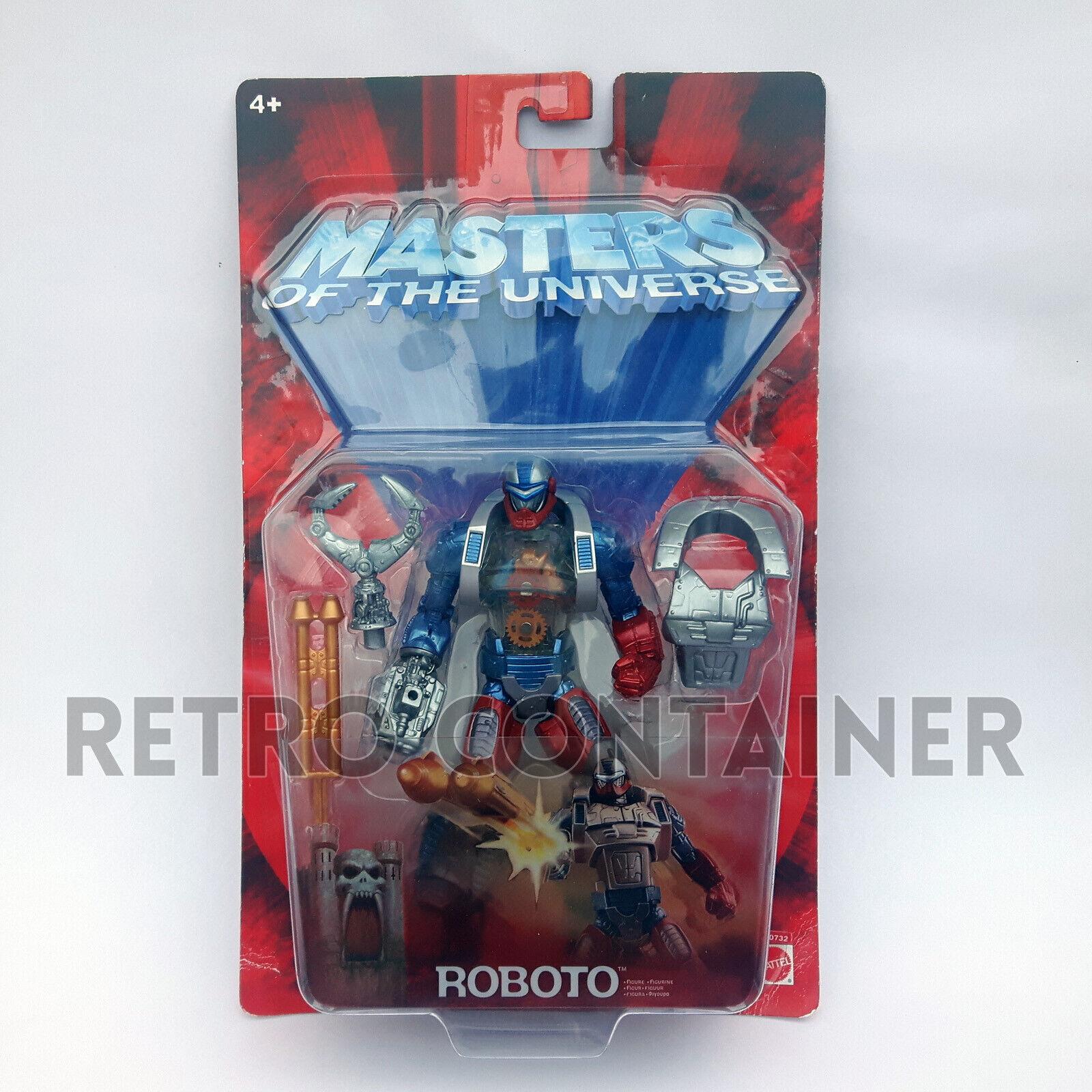 HE-uomo e THE MASTERS OF THE UNIVERSE MOTU 200X  - Roboto MISB MOC nuovo  autorizzazione