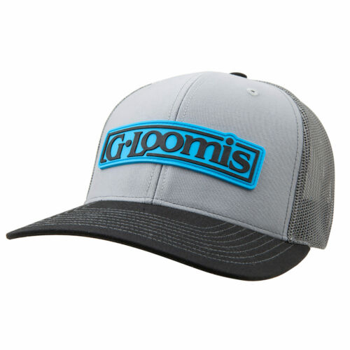 G Loomis Rubber Logo Patch Hat Grey