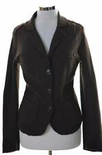 Joop Womens Blazer Jacket Size 36 Small Brown Wool