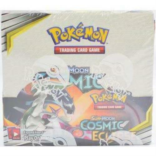 Cosmic Eclipse Booster Box Sealed SM12 Pokemon 36 Packs