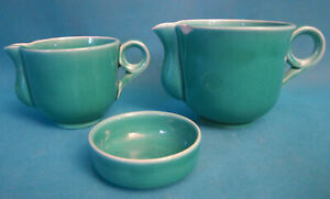 -dose Milch- Drei Stück aus Keramik Proceram Service Mireille