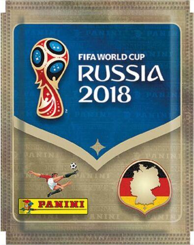 Panini WM World Cup Russia 2018 1 Tüte Sammeln Sticker