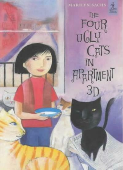 Four Ugly Cats in Apartment 3D,Marilyn Sachs- 9780689837289