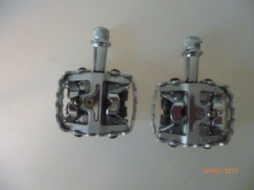 1 pair new road bike clipin pedals welgo WPDM8 without shoe plates