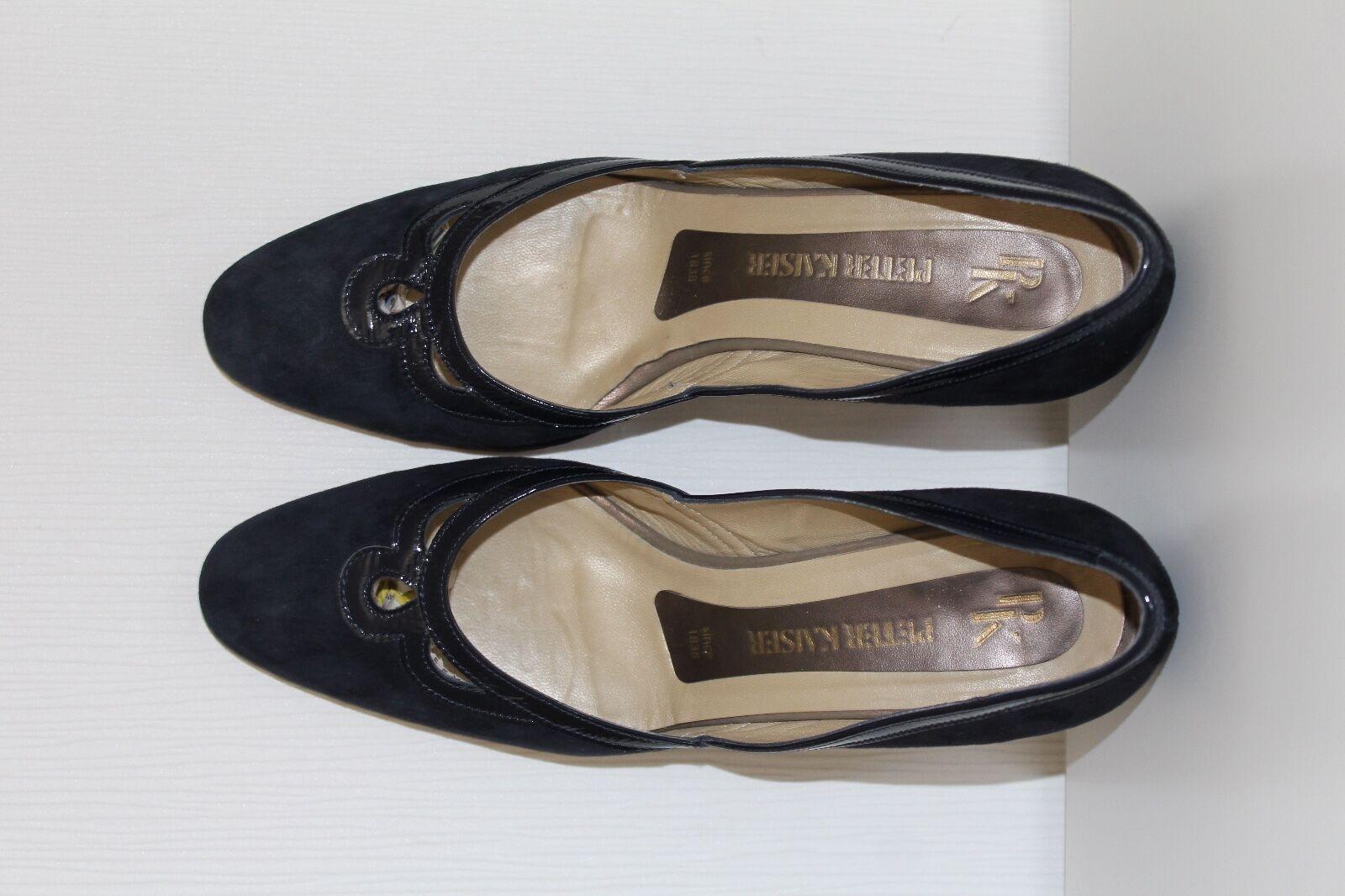 Peter Kaiser Damen SCHUHE PUMPS Größe 37 Wildleder Echtleder leather SHOES HEELS