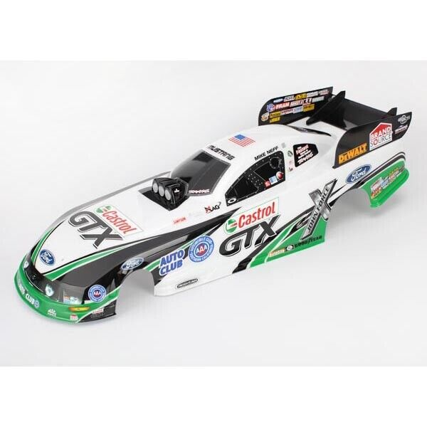 FREE SHIPPING  TRAXXAS  6913 Body Ford Mustang Mike Neff (painted decals appli