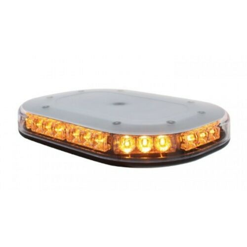 Clear Amber 30 LED Strobe Beacon Safety Flasher Warning Light Permanent Mount
