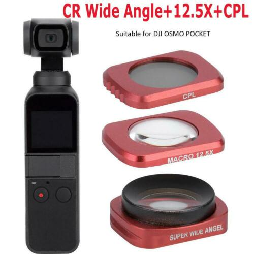For DJI OSMO POCKET Gimbal Camera CR Wide Angle ND16 CPL Lens Filter Accessories
