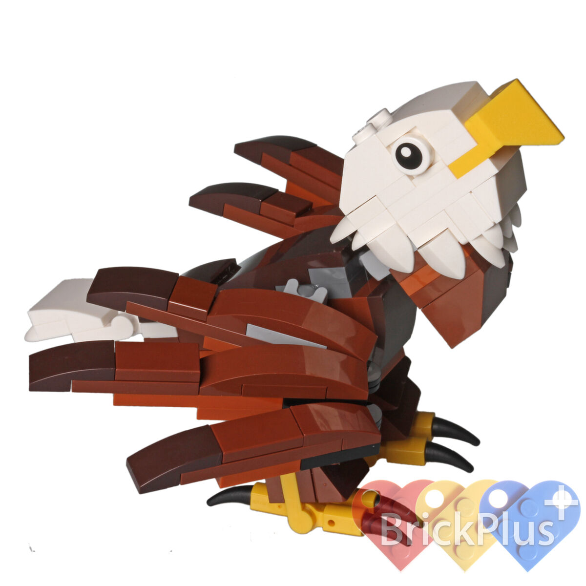 LEGO Bald Eagle REPLICA from 4002014 HUB Birds - Assembled State