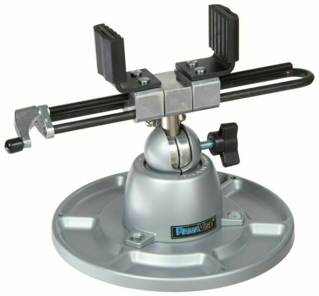 "PANAVISE 350 1-13//16/"" Light Duty Multi-Angle Vise with Tray Base"