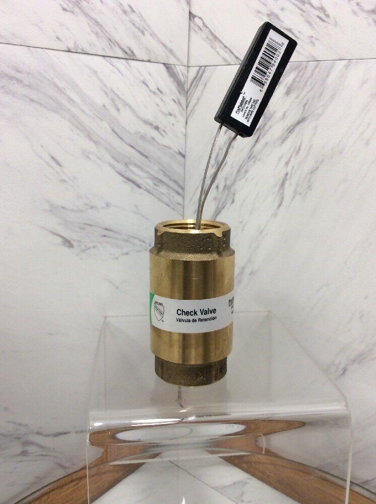 Proplumber 1 brass check valve ppcv100nl 105009 ebay ccuart Gallery