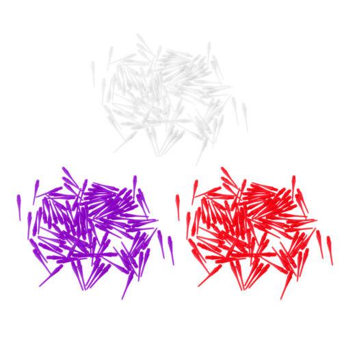100 Stück Kunststoff Dartpfeile Dart Spitzen Dartspitzen Softspitzen für