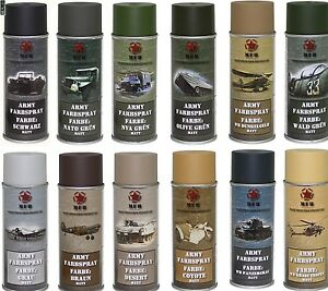 Bw-Army-Spray-Cans-Varnish-Camouflage-of-the-Military-400-Ml-13-50-L-Paint
