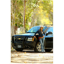 Killer Women with Tricia Helfer as Molly Parker by Truck 8 x 10 Inch Photo