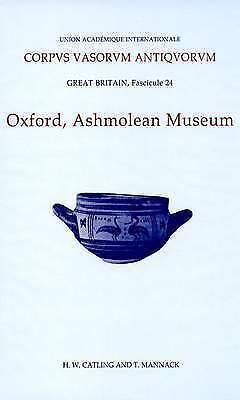 Corpus Vasorum Antiquorum, Great Britain Fascicule 24, Oxford Ashmolean...