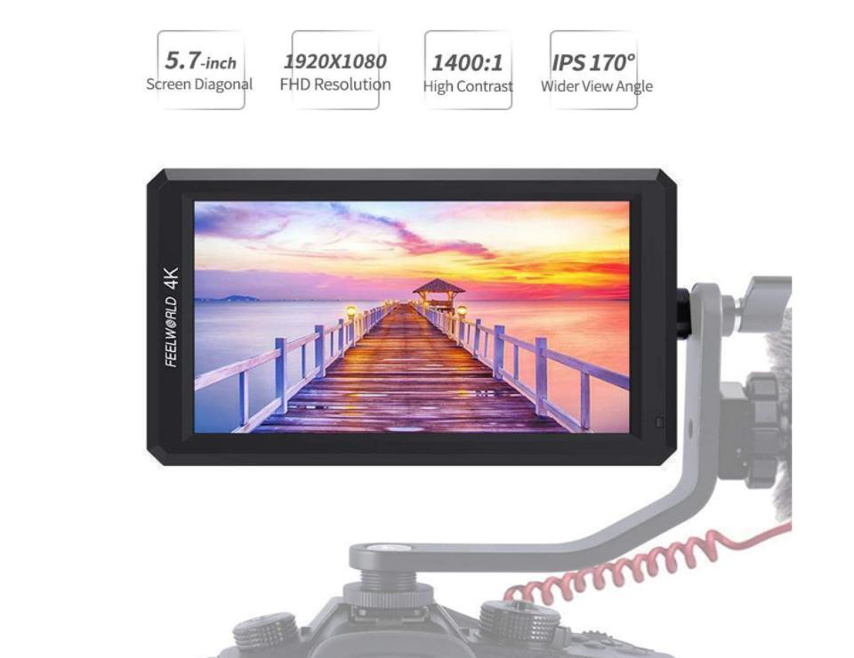 4K IPS HDMI On-Camera Monitor 5.7