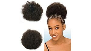 1 Synthetic Ponytail Natural Afro Kinky Puff Medium size with comb amp drawstring - Glasgow, United Kingdom - 1 Synthetic Ponytail Natural Afro Kinky Puff Medium size with comb amp drawstring - Glasgow, United Kingdom