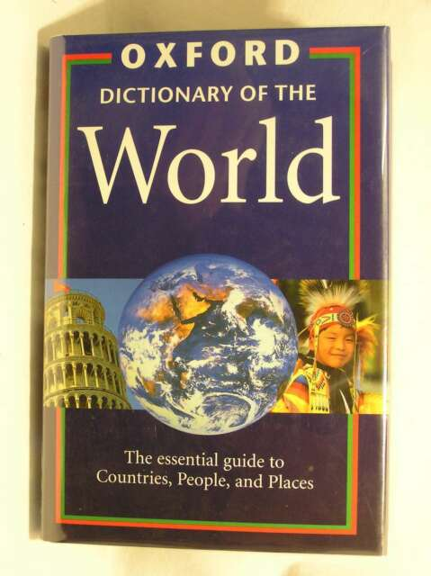 The Oxford Dictionary of the World, , Excellent Book