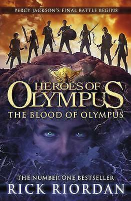 1 of 1 - The Blood of Olympus by Rick Riordan (Paperback, 2014)