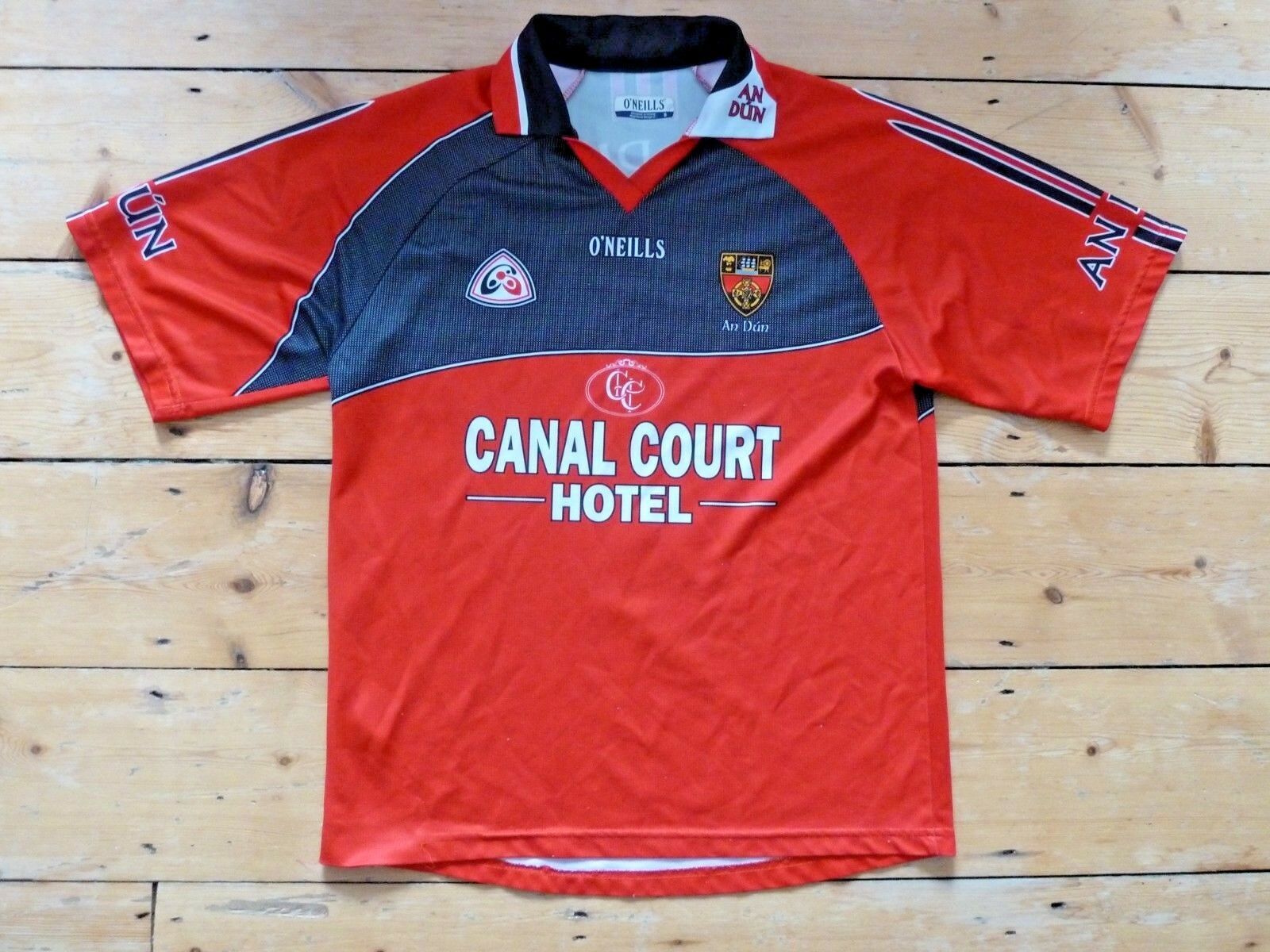 new product 6572b 07562 Piuma Gaa Squadra An Dun Gaelico Calcio Calcio Calcio Ulster Vintage  Partita Replica TAGLIA S 0c1e91